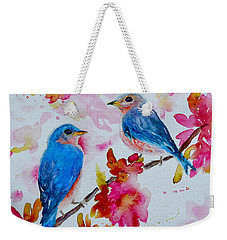 Nesting Pair Weekender Tote Bag by Beverley Harper Tinsley