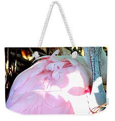 Nesting Spoonbill Weekender Tote Bag