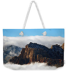 Nestled In The Clouds Weekender Tote Bag