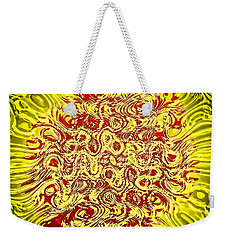 Weekender Tote Bag featuring the photograph Networking by Kellice Swaggerty