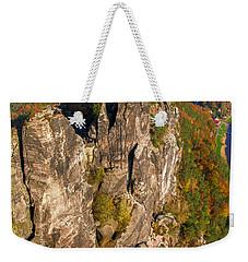 Neurathen Castle In The Saxon Switzerland Weekender Tote Bag