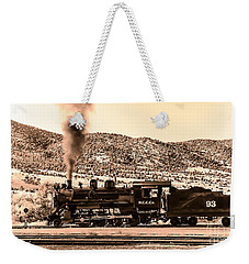 Nevada Northern Railway Weekender Tote Bag