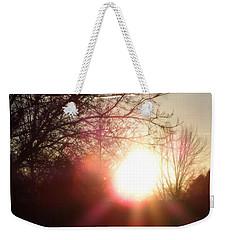 Nevada Sunset Weekender Tote Bag by Bobbee Rickard