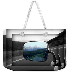 Looking Back Weekender Tote Bag by Janice Westerberg