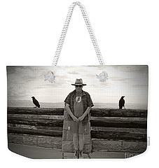 Nevermore Weekender Tote Bag by Meghan at FireBonnet Art