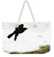 Nevermore Weekender Tote Bag by Roselynne Broussard