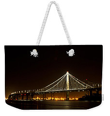 New Bay Bridge Weekender Tote Bag by Bill Gallagher