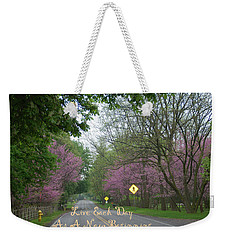 New Beginning Weekender Tote Bag by Aimee L Maher Photography and Art Visit ALMGallerydotcom