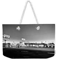 New Breed Of Truck Stop Weekender Tote Bag by Underwood Archives