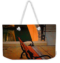 New Bridge And Bench Weekender Tote Bag