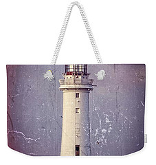 New Brighton Lighthouse Weekender Tote Bag by Spikey Mouse Photography