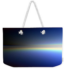Weekender Tote Bag featuring the digital art New Day Coming by Andreas Thust