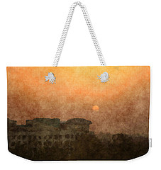 New Delhi Sunset Weekender Tote Bag