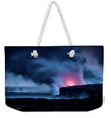 Weekender Tote Bag featuring the photograph New Earth by Jim Thompson