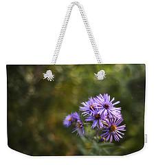New England Asters Weekender Tote Bag