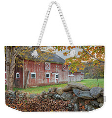 New England Barn Weekender Tote Bag
