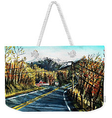 New England Drive Weekender Tote Bag