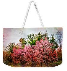 New England Spring Weekender Tote Bag