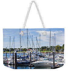 New Hampshire Marina Weekender Tote Bag