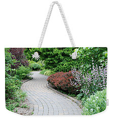 Weekender Tote Bag featuring the photograph Frelinghuysen Arboretum Path by Richard Bryce and Family