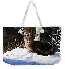 New Mexico Swift Fox Weekender Tote Bag