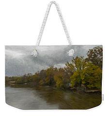 New Milford By Water Side Weekender Tote Bag