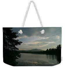 Weekender Tote Bag featuring the photograph New Morning On Lake Umbagog  by Neal Eslinger
