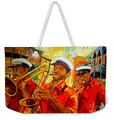 New Orleans Brass Band Weekender Tote Bag