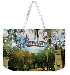 New Orleans City Park - Pizzati Gate Entrance Weekender Tote Bag