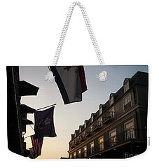 Evening In New Orleans Weekender Tote Bag by Valerie Reeves