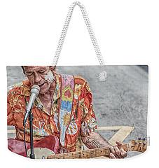 New Orleans Guitar Man Weekender Tote Bag