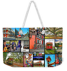 New Orleans Weekender Tote Bag
