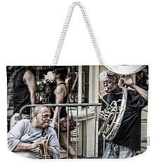 New Orleans Street Jam Weekender Tote Bag