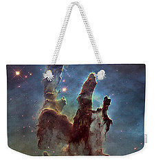 New Pillars Of Creation Hd Square Weekender Tote Bag by Adam Romanowicz