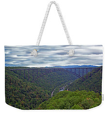New River Bridge Weekender Tote Bag by Aimee L Maher Photography and Art Visit ALMGallerydotcom