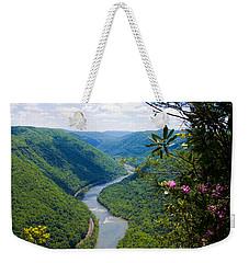 New River View Weekender Tote Bag
