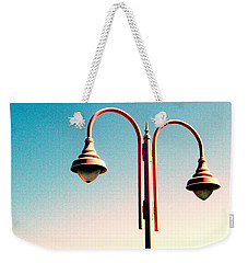Beach Lamp Post Weekender Tote Bag