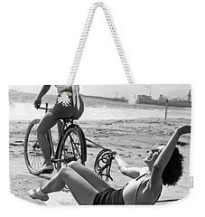 New Sport Of Ice Planing Weekender Tote Bag