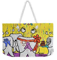 New Tooth Weekender Tote Bag