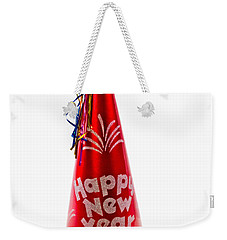 Happy New Year Party Hat Weekender Tote Bag