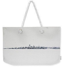 New Years Day Weekender Tote Bag