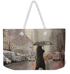 New York Chill Weekender Tote Bag