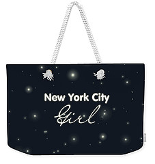 New York City Girl Weekender Tote Bag