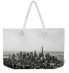 New York City Weekender Tote Bag by Linda Woods