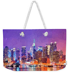 New York City - Skyline 0 Weekender Tote Bag