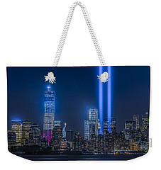 New York City Tribute In Lights Weekender Tote Bag