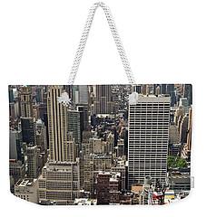 New York Midtown Skyscrapers Weekender Tote Bag