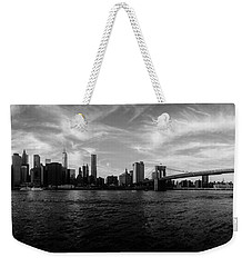 New York Skyline Weekender Tote Bag by Nicklas Gustafsson