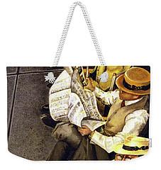 New York Times Weekender Tote Bag