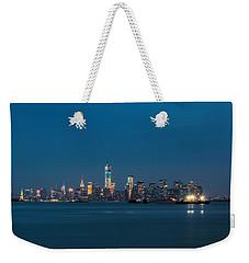 New York Twilight Weekender Tote Bag